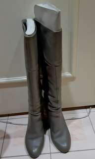 Authentic Ninewest Knee Leather Boots