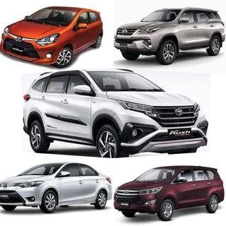 Brand New Toyota Cars