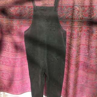 韓版寬鬆連身工作褲
