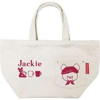 #預購 6月初日本出 . 小熊學校 手挽袋