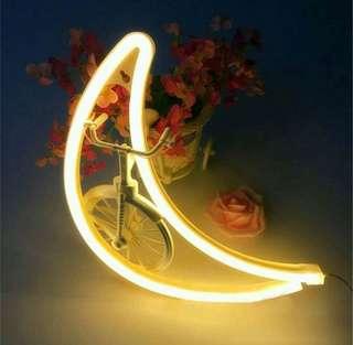 LED NEON MOON LIGHT