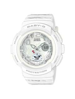 White Hello Kitty Casio Baby G 2018 Limited Edition Watch