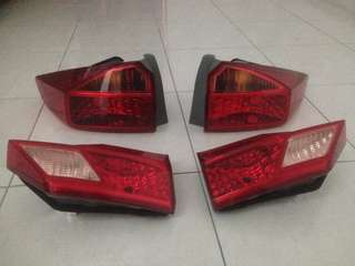 honda city gm6 tail and boot lamp oem