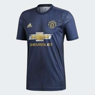 NEW MANCHESTER UNITED ADULT THIRD JERSEY (XS -2XL)
