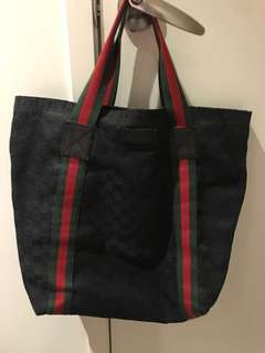Authentic Gucci's tote bag