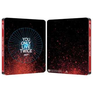 You Only Live Twice 007 James Bond Limted Edition Steelbook Blu-ray