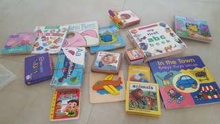 Board Books, flashcards-to bless