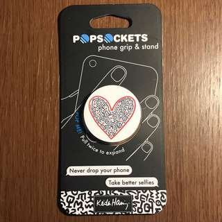 Authentic PopSocket - Figures in a Heart