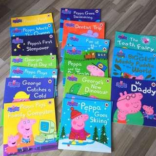 Peppa Pigs storybook
