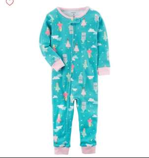 *18M* BN Carter's Snug Fit Cotton Footless PJs For Baby Girl