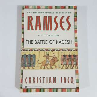Ramses: The Battle of Kadesh (Ramses, #3) by Christian Jacq