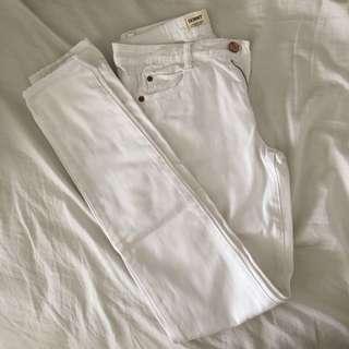 Cotton On White Skinny Denim