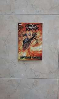 Ghost Rider: Vicious Cycle (Marvel Graphic Novel tradepaper back; collects Ghost Rider Vol 5 #1 to 5)