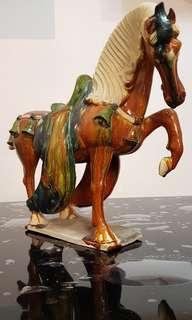 Ceramic sancai horse
