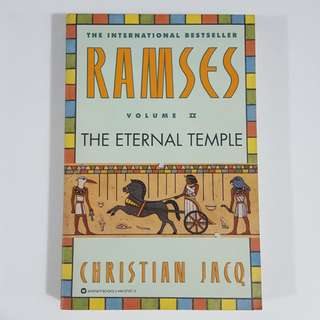 Ramses: The Eternal Temple (Ramses, #2) by Christian Jacq