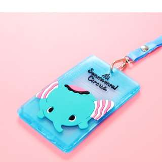 Card Holder/ Cute Cartoon/ Plastic / Children/Lanyard/Student Card/ EzLink Card/ 3 for SGD 5.00