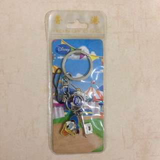 Donald Duck Limited Edition Disney Keychain Hong Kong Disneyland