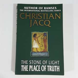 The Place of Truth (The Stone of Light, #4) by Christian Jacq
