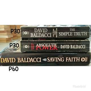 Absolute Power, The Simple Truth, and Saving Faith by David Baldacci