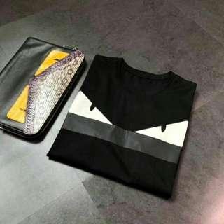 芬迪Fendi 2018春夏系列最新款短袖T恤
