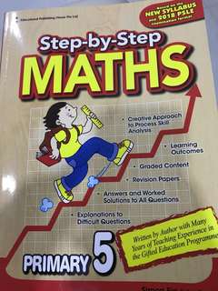 Step by Step Maths Primary 5