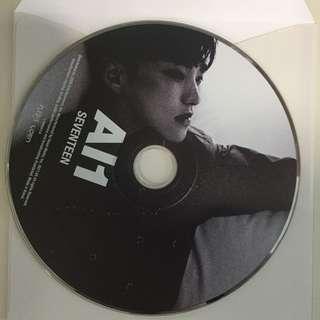 WTT SEVENTEEN HOSHI AL1 CD PLATE