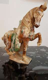 Ceramic sancai horse