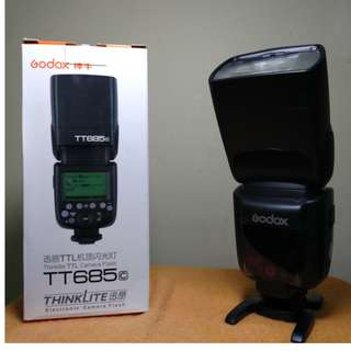 Flash Godox TL 685 Canon Mulus Bergaransi
