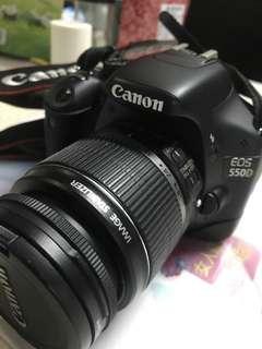 Canon 550D +18-55mm