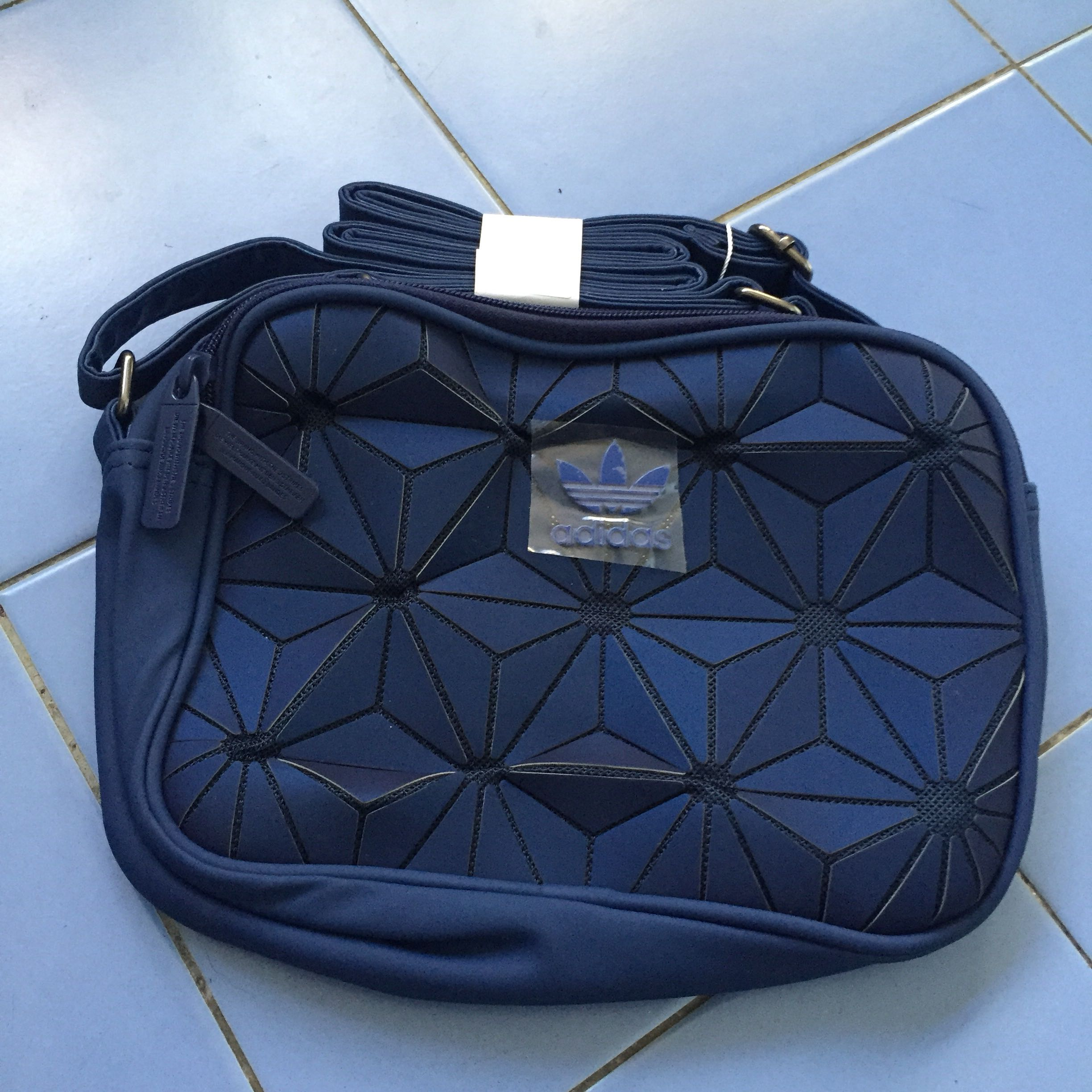 d1a38d6f15 2PCS LEFT! FREE POSTAGE! Adidas 3D Sling Bag x Issey Miyake