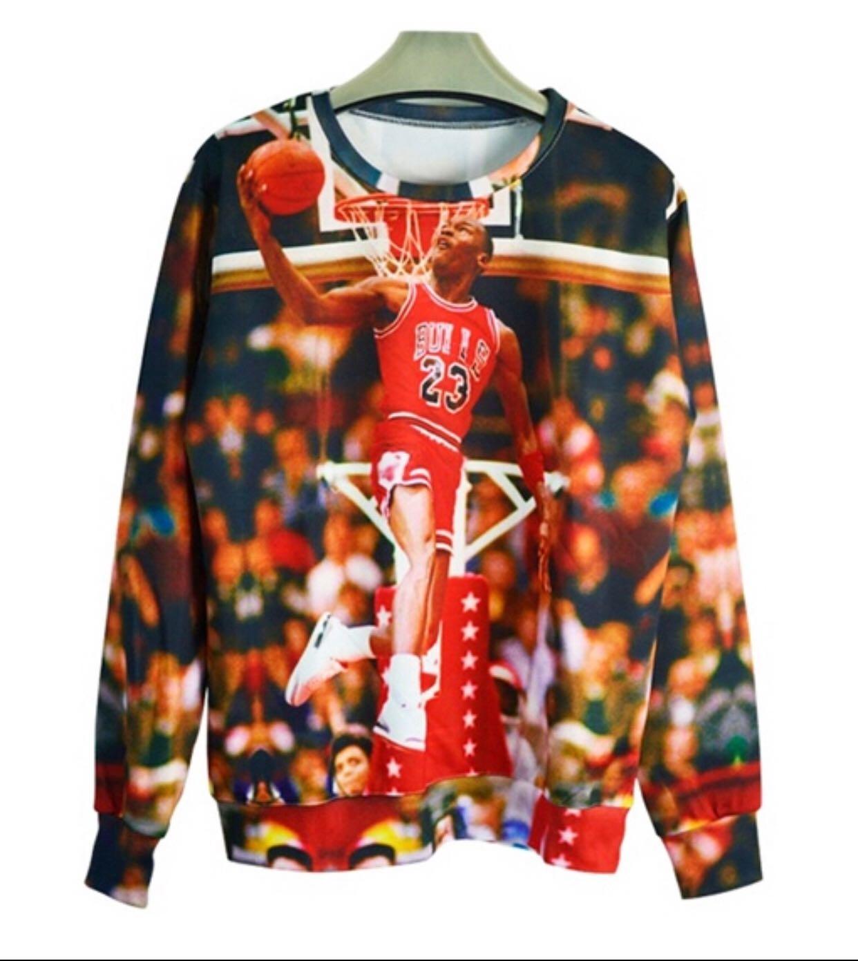 a8e60bfedc033f New Jordan hoodies men women print 3d sweatshirt punk sportswear ...