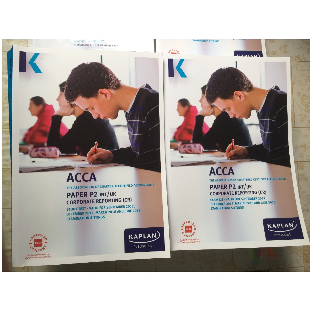 ACCA P2 Latest Kaplan notes, Books & Stationery, Textbooks