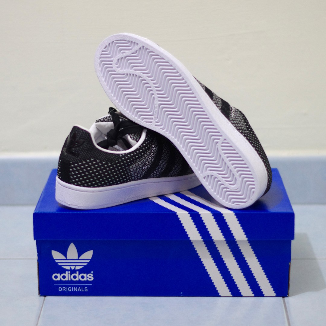 quality design 2856a 0b08c Adidas Superstar Weave Black and White, Men's Fashion ...