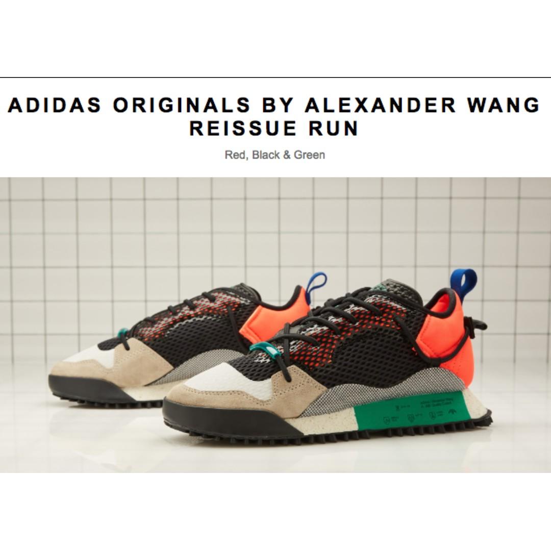 ¡Adidas x Alexander Wang Reissue Run multi - aq1233 nueva!! lanza