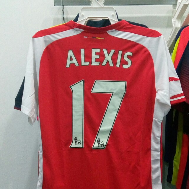 premium selection 84015 7703b Alexis Sanchez Arsenal Home Kit 2014/15 M Size