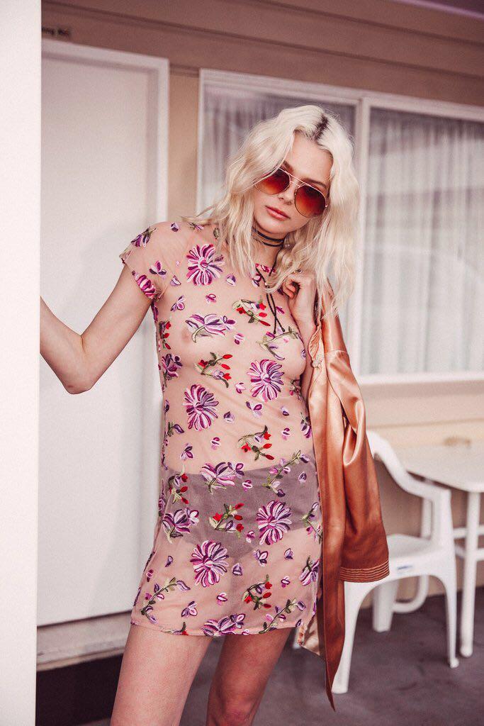 Arnhem Kiki dress purple haze size 14