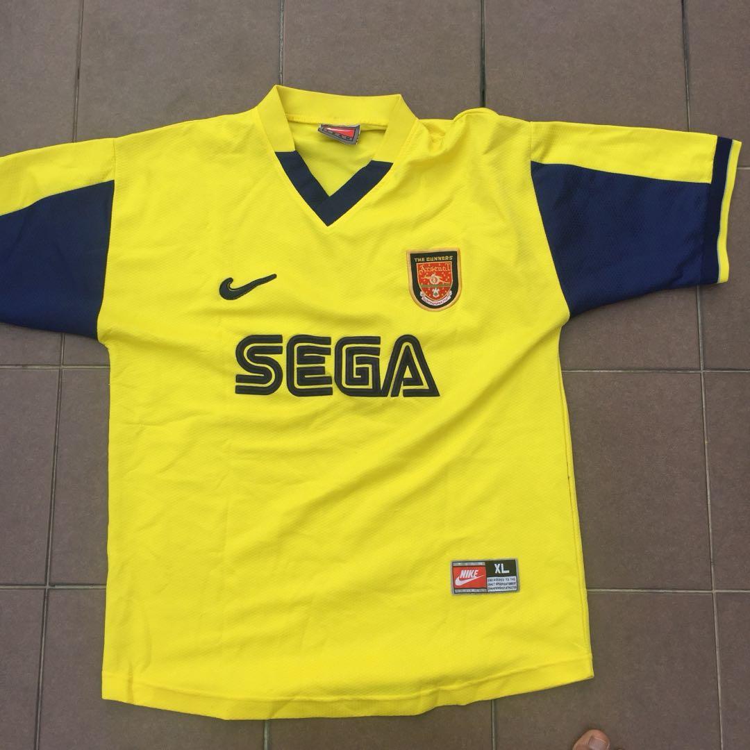 the best attitude 07919 9aa82 Arsenal jersey sega