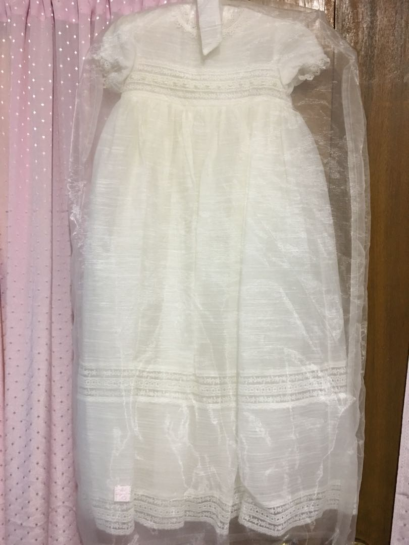Baptismal Gown for baby girl, Babies & Kids, Babies Apparel on Carousell