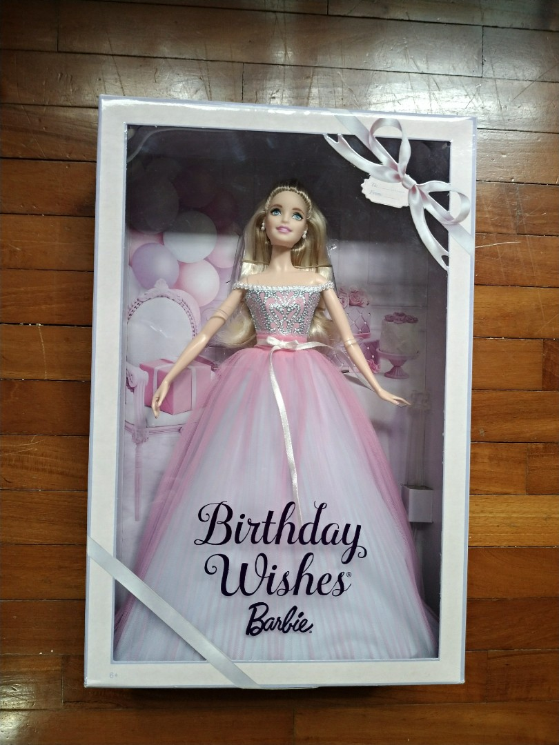 Birthday Wishes Barbie 2017 Toys Games Bricks Figurines On