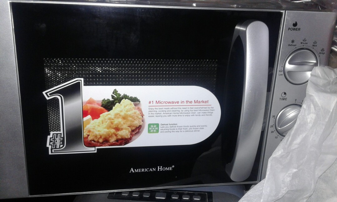 Brand New American Home Microwave Oven Amw 22 Kitchen Liances On Carou