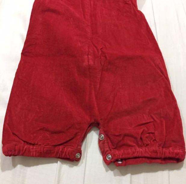 ac79e532a39 🆓📮Chateau de Sable Red Romper  Jumpsuit   Playsuit