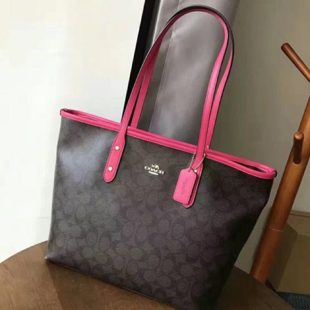 707c144bf ... ireland coach city zip tote signature womens fashion bags wallets on  carousell 20d2c 7220d
