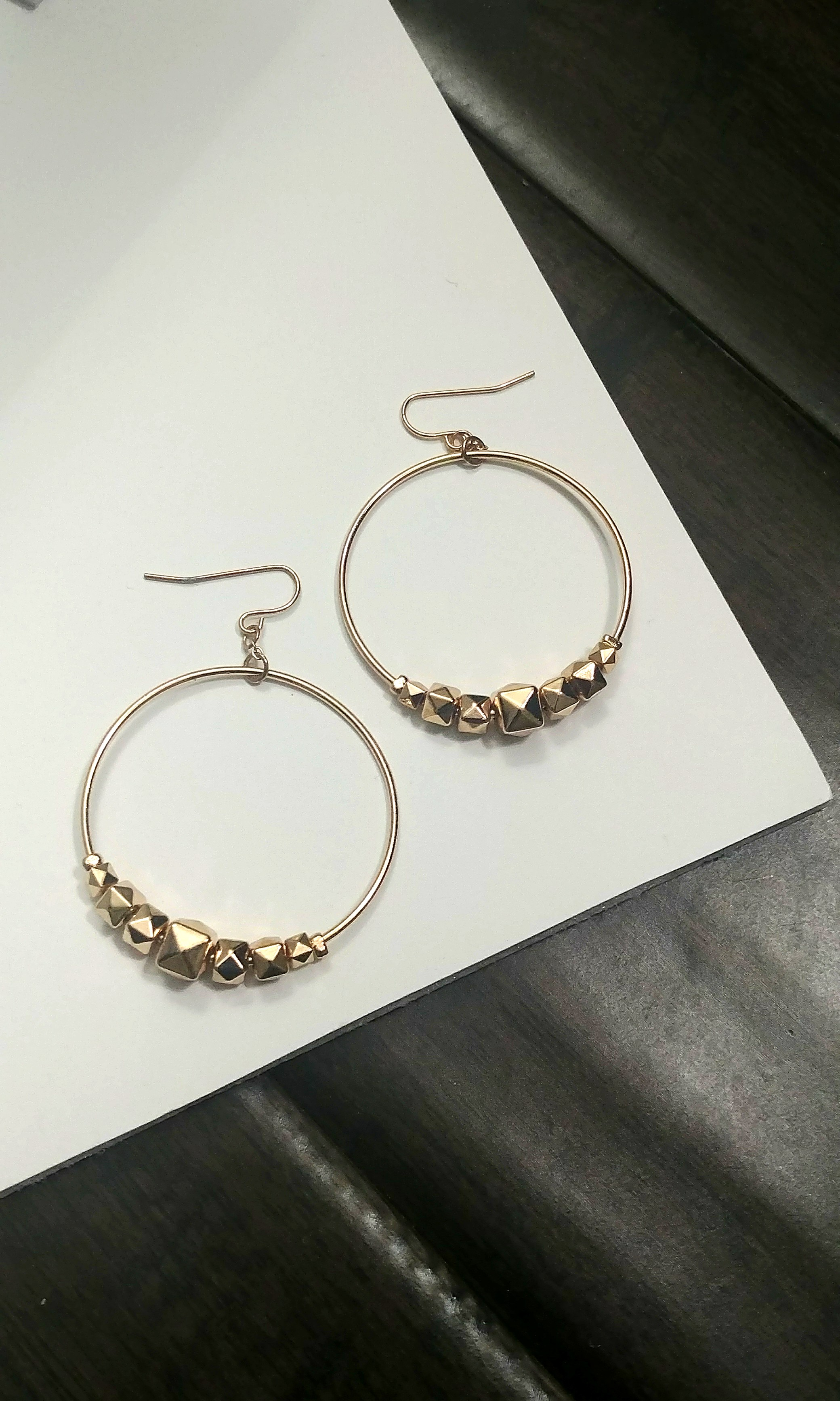 F21 Hoop/Drop Earrings
