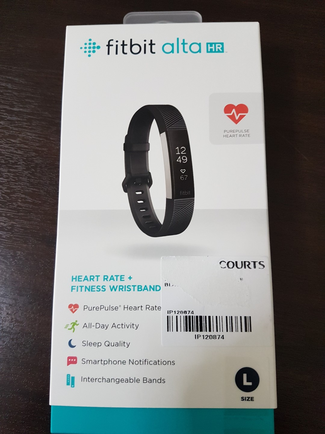 Fitness Wristband Fitbit Alta Hr Electronics Others On Carousell Smartwatch Small Black Stainless Steel Photo