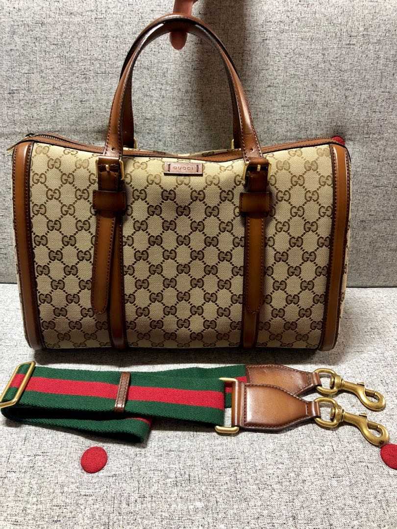 Gucci Boston Bag Luxury Bags Wallets On Carousell Speedy Photo