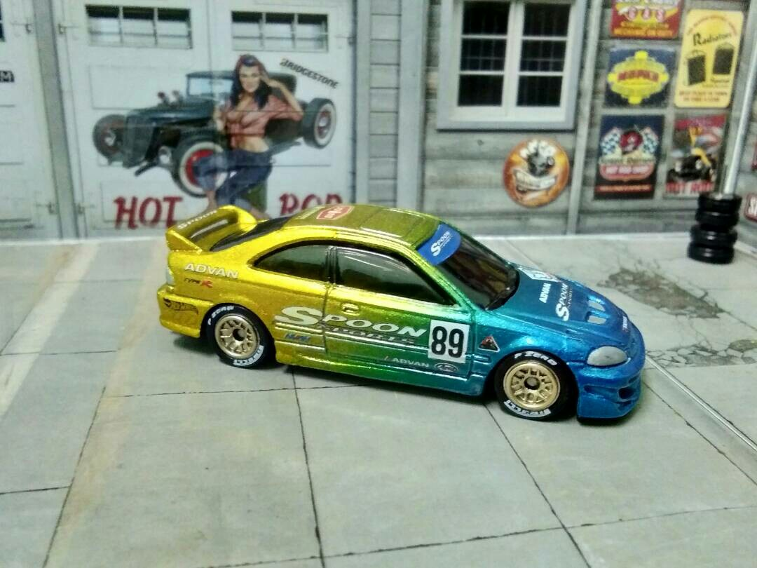 Hot Wheels Custom Honda Civic Coupe Si, Toys U0026 Games, Other Toys On  Carousell