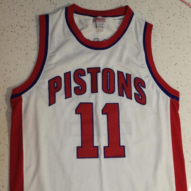 big sale 6c446 04586 isiah thomas 11 Detroit pistons nba jersey. size xl, Sports ...