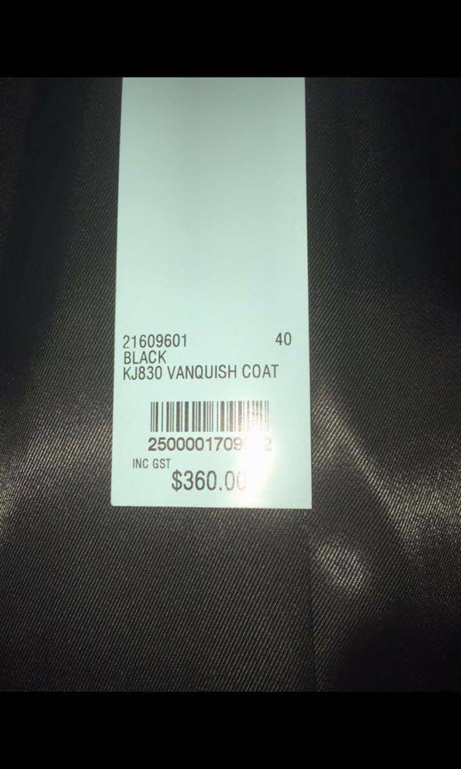 Kookai Vanquish Cream White Coat - Size 8/10