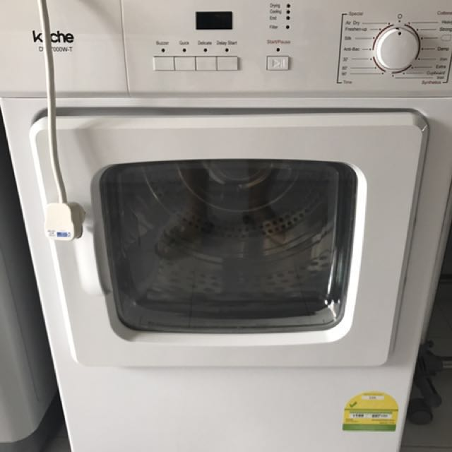 Kuche Dvf7000wt 7kg Front Load Dryer Home Appliances On Carousell