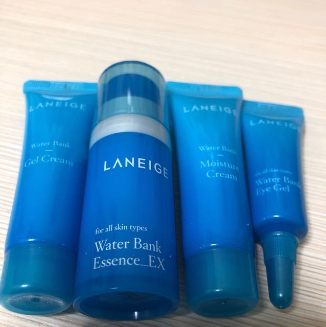 Laneige Water Bank Trial Kit ( 4 Items ), Health & Beauty, Face & Skin Care on Carousell